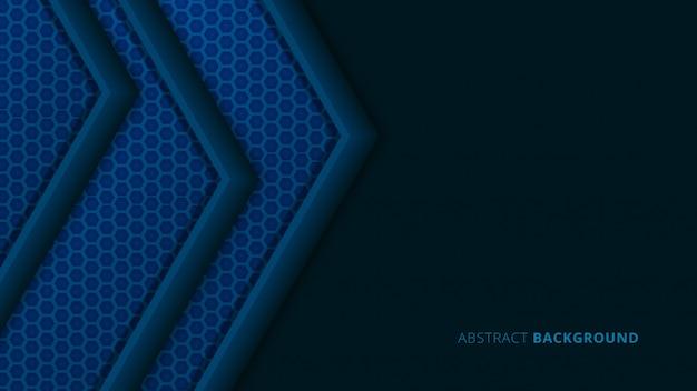 Abstrakcjonistyczny geometryczny kształta tło z błękitnym węgla szczegółem