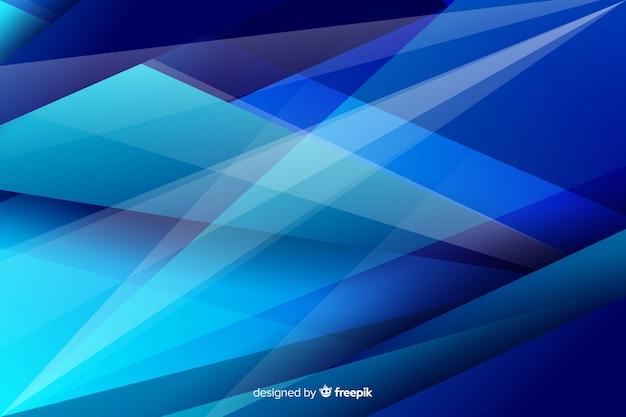 Abstrakcjonistyczny geometryczny trójbok kształtuje tło