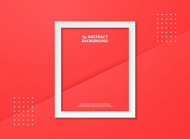 Abstrakcjonistyczny gradientowy czerwony kolor z białym płomienia tłem