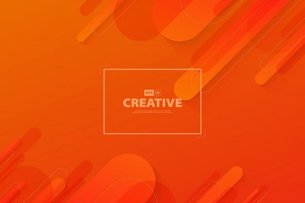 Abstrakcjonistyczny gradientowy pomarańcze i czerwonego koloru ruchu elementu strony docelowej płynny ruch tła.