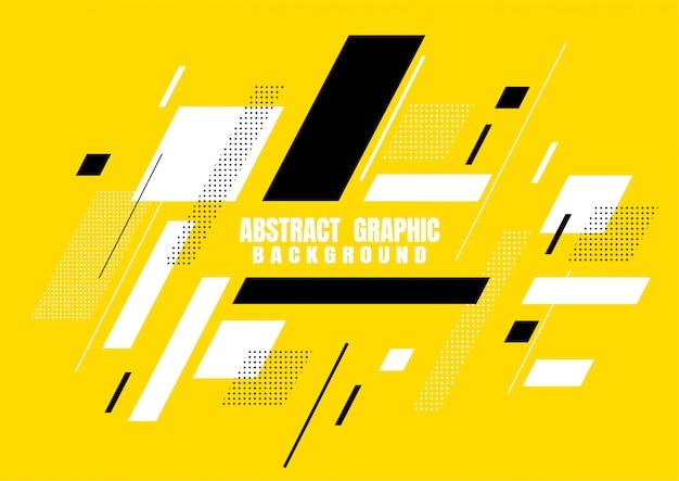 Abstrakcjonistyczny graficzny geometryczny kształt projekt dla pokrywy
