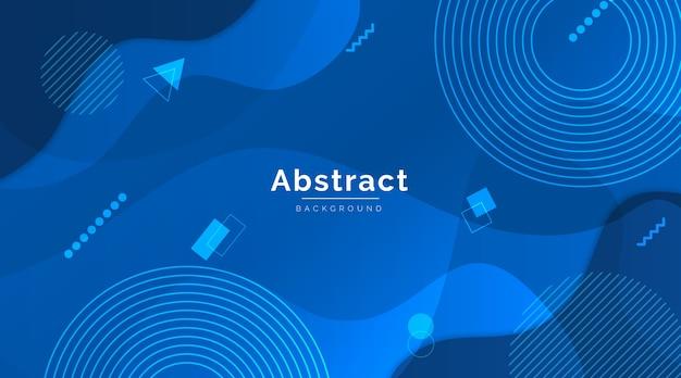 Abstrakcjonistyczny klasyczny błękitny nowożytny tło styl