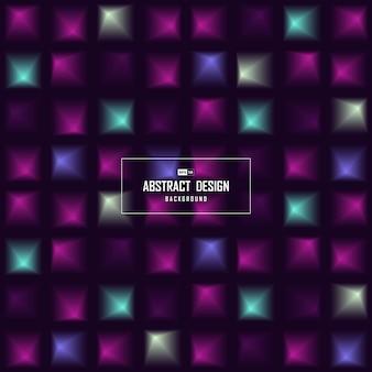 Abstrakcjonistyczny kolor kwadratowy futurystyczny deseniowy projekta tło.
