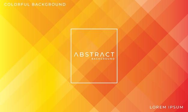 Abstrakcjonistyczny kolorowy czerwony i żółty tło