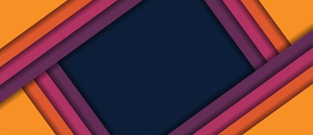 Abstrakcjonistyczny kolorowy geometryczny minimalny linii tło