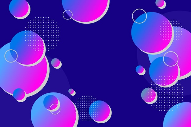 Abstrakcjonistyczny kolorowy gradient okrąża tło