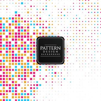 Abstrakcjonistyczny kolorowy mozaika wzoru tło