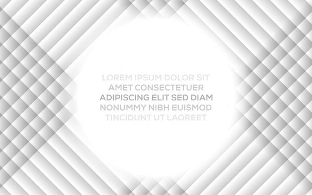 Abstrakcjonistyczny kreatywnie modny dynamiczny nowożytny projekt z szarym białym abstrakcjonistycznym tłem