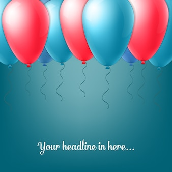 Abstrakcjonistyczny kreatywnie pojęcie wektoru balon odizolowywający na tle dla sieci i wiszącej ozdoby zastosowań, ilustracyjny szablonu projekt, biznesowy infographic, strona, broszurka, sztandar, prezentacja.