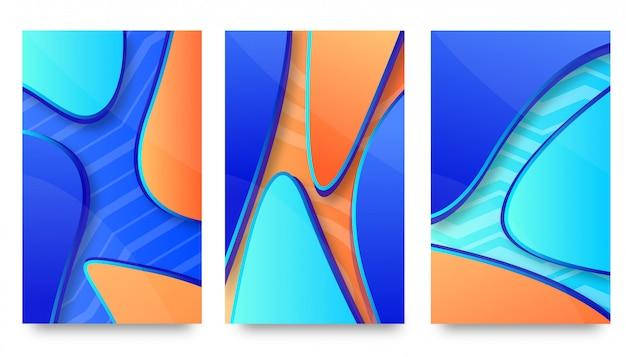 Abstrakcjonistyczny kreatywnie tło