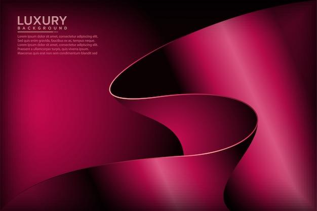 Abstrakcjonistyczny królewski czerwony elegancki tło