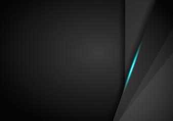 Abstrakcjonistyczny kruszcowy Błękitnej czerni ramy układu techniki projekta szablonu nowożytny tło