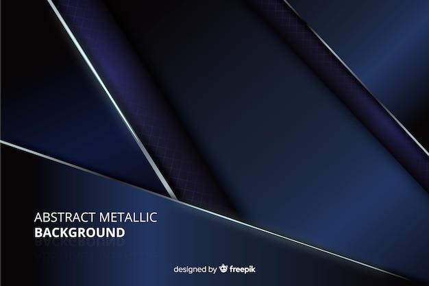 Abstrakcjonistyczny kruszcowy błękitny tekstury tło