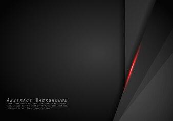 Abstrakcjonistyczny kruszcowy czerwony czerni ramy układu techniki projekta szablonu nowożytny tło