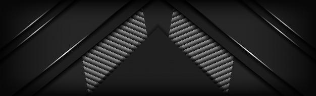 Abstrakcjonistyczny luksusowy czarny węgla tło