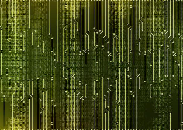 Abstrakcjonistyczny microchip obwodu deski systemu zieleni tło