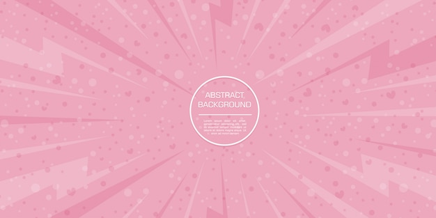 Abstrakcjonistyczny miłości valentine kolor z różowym tłem