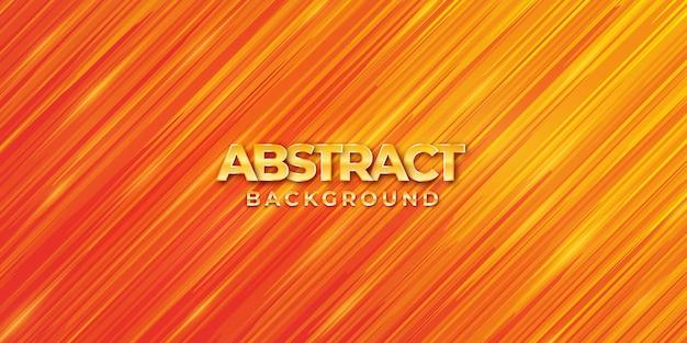 Abstrakcjonistyczny modny pomarańczowy gradientowy tło