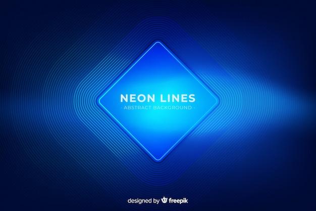 Abstrakcjonistyczny neonowy linii tło