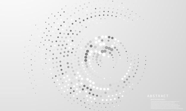 Abstrakcjonistyczny nowoczesny okrąg sztuki tło luksus biały nowoczesny