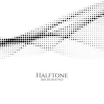 Abstrakcjonistyczny nowożytny halftone tło
