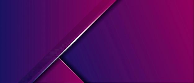 Abstrakcjonistyczny nowożytny luksusowy błękitny purpurowy gradient z pokrywaniem warstw sztandaru tło