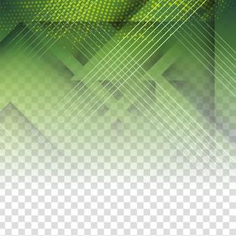Abstrakcjonistyczny nowożytny zielony technologiczny geometryczny tło