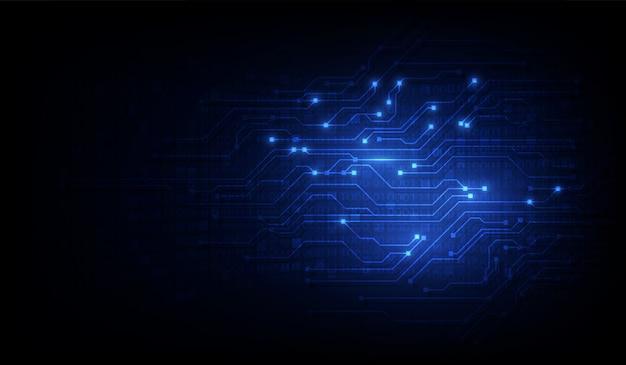 Abstrakcjonistyczny obwodu networking blockchain pojęcia tło
