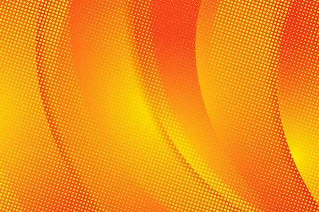Abstrakcjonistyczny pomarańczowy halftone tło