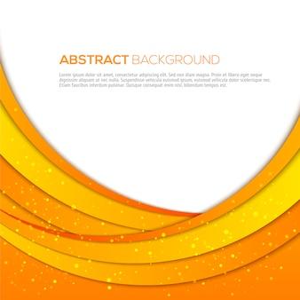 Abstrakcjonistyczny pomarańczowy tło z teksta szablonem