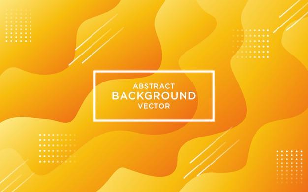 Abstrakcjonistyczny pomarańczowy żółty gradientowy kolor krzywy tło.