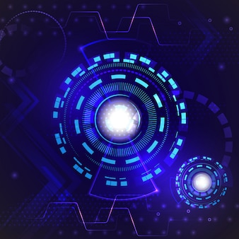 Abstrakcjonistyczny prędkości interneta technologii tło cześć. cyfrowe techno
