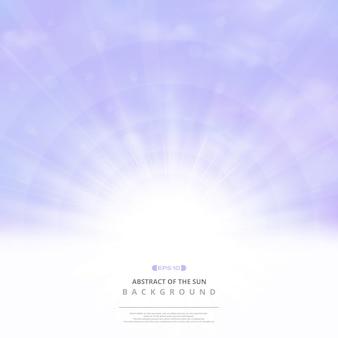 Abstrakcjonistyczny purpurowy niebo realistyczny tło.