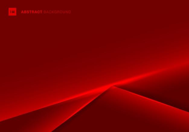 Abstrakcjonistyczny szablon czerwieni ramy tło