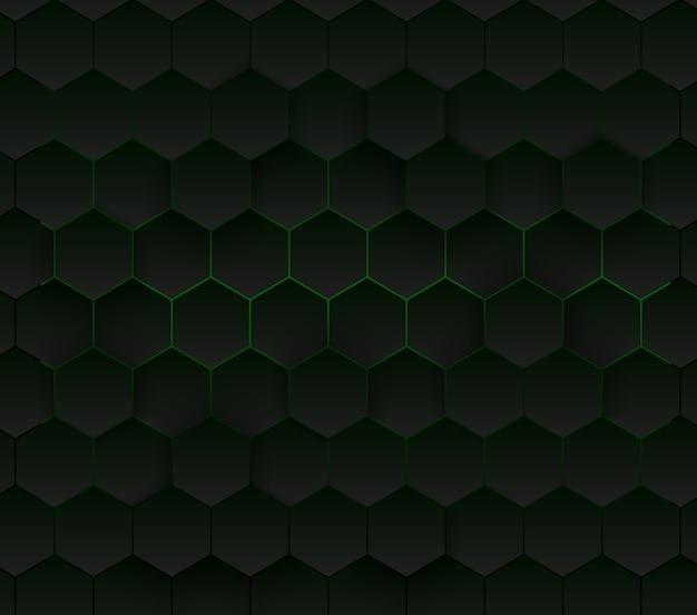Abstrakcjonistyczny sześciokątny tło