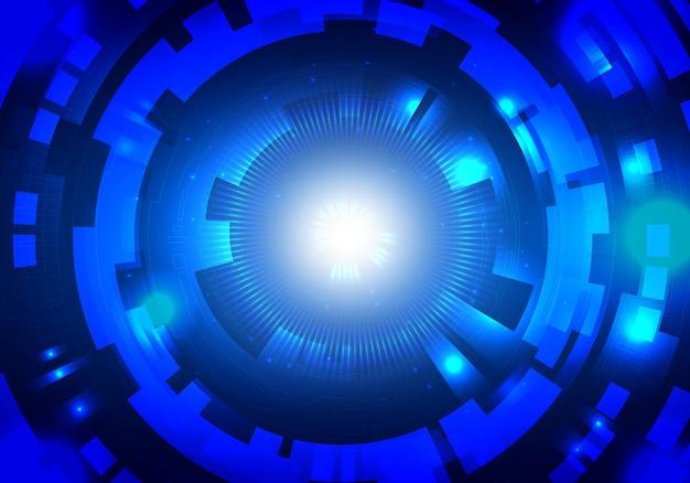 Abstrakcjonistyczny technologii sci fi obwodu tło