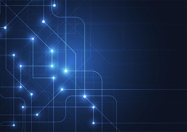 Abstrakcjonistyczny technologii tło z dużymi dane