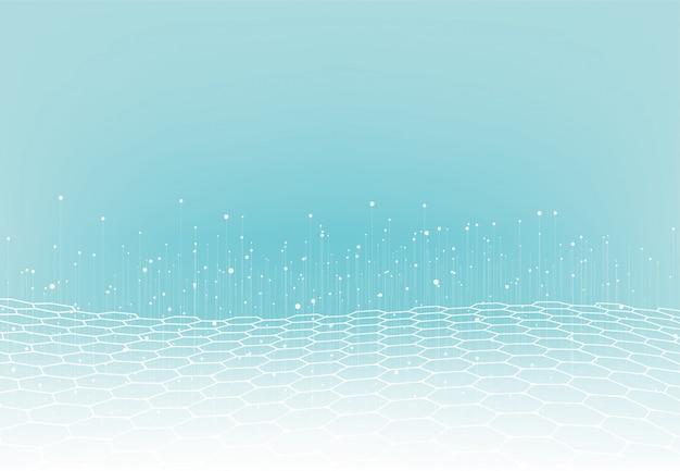 Abstrakcjonistyczny technologii tło z dużymi danymi