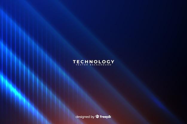 Abstrakcjonistyczny technologii tło