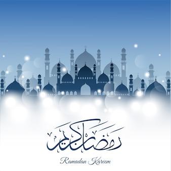 Abstrakcjonistyczny tło dla ramadan kareem