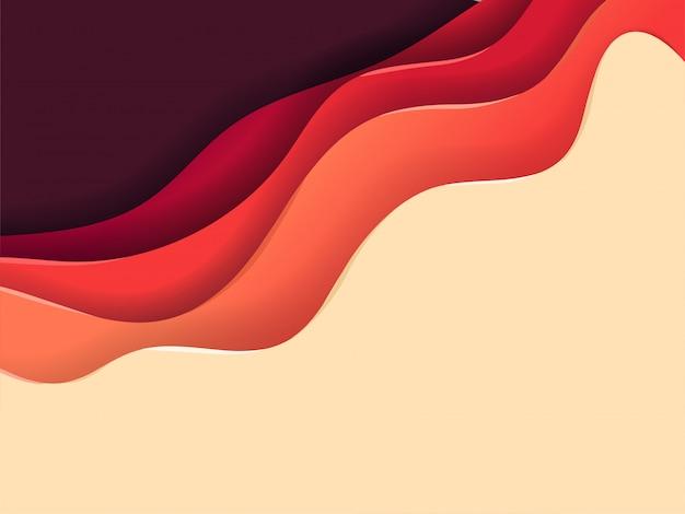 Abstrakcjonistyczny tło kolor warstwy