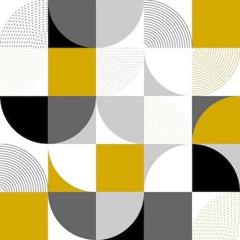 Abstrakcjonistyczny tło różni geometryczni kształty. streszczenie tło w nowoczesny prosty projekt płaski. proste kształty geometryczne.