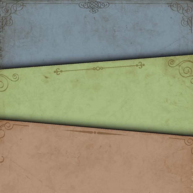 Abstrakcjonistyczny tło stary papier
