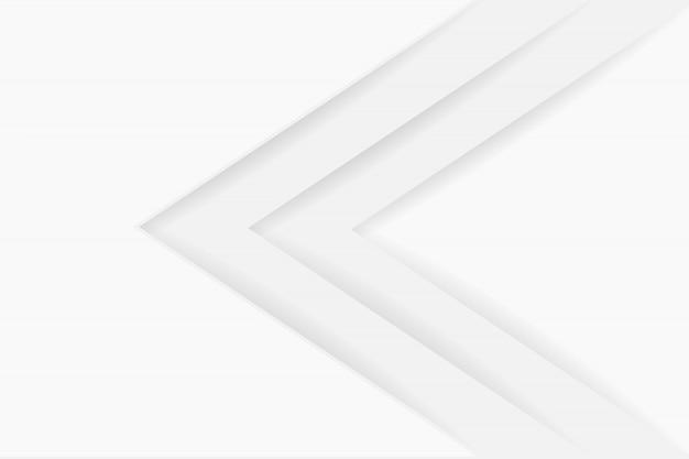 Abstrakcjonistyczny tło w białych i szarych cieniach, papierowi prześcieradła na białym tle