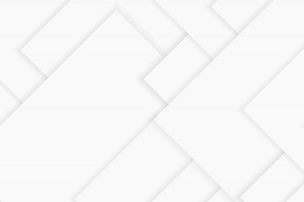 Abstrakcjonistyczny tło w białych i szarych odcieniach, geometryczni kształty na białym tle, prostoty conceptua
