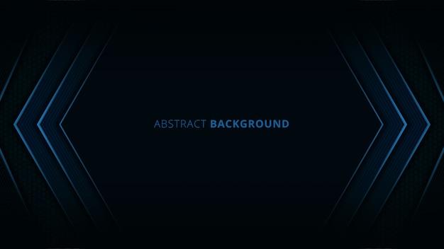 Abstrakcjonistyczny tło z błękita światłem i węgla szczegółem