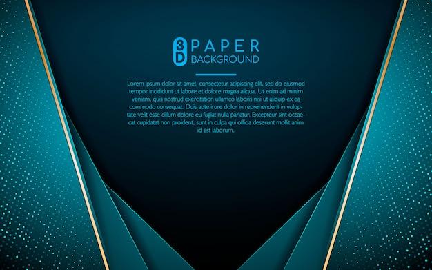 Abstrakcjonistyczny tło z błękitnymi pokrywa się warstwami
