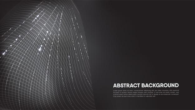 Abstrakcjonistyczny tło z błyskotliwościami, z copyspace dla teksta.