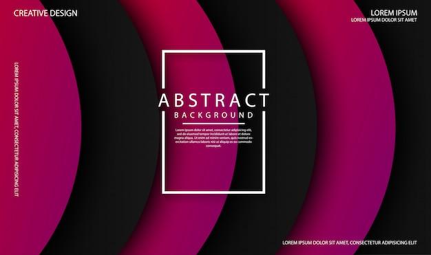 Abstrakcjonistyczny tło z czernią i purpura koloru falowymi kształtami. dynamiczny płyn w kolorze