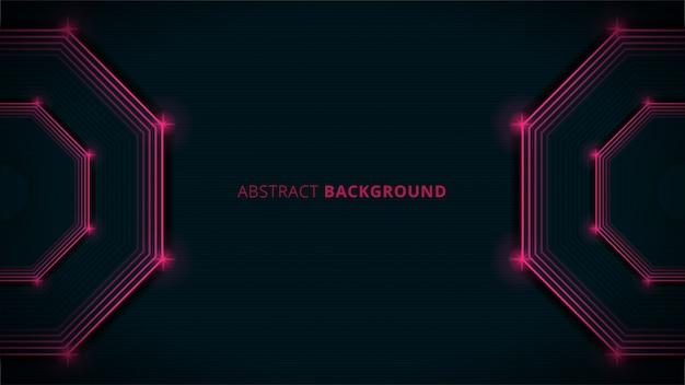Abstrakcjonistyczny tło z czerwonym światłem